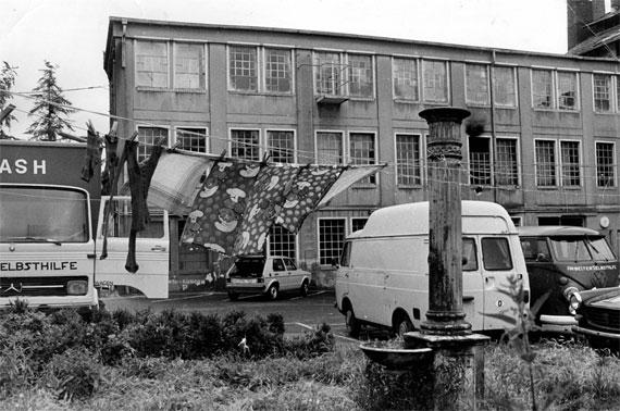Fabrik Bonames Innenhof